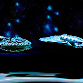 Star Trek meets Starwars by Richard Lawes - Novices Only Macro