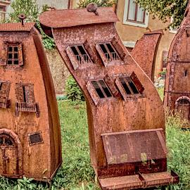 drunken house by Eseker RI - Artistic Objects Still Life (  )