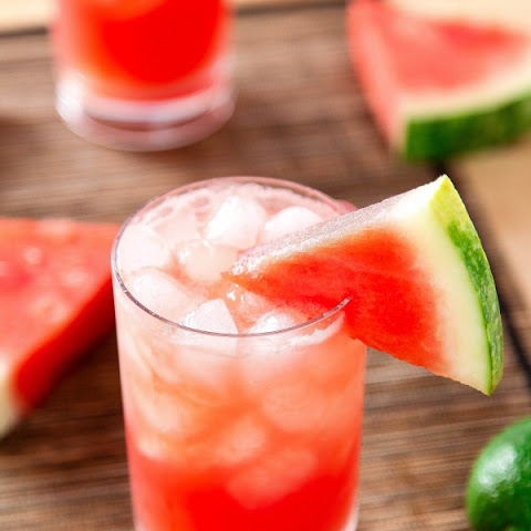 Sparkling Watermelon Cocktail