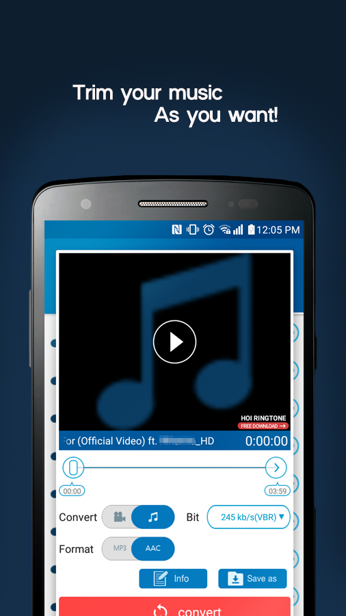 MP3 Video Converter Screenshot 2