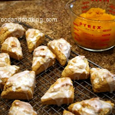 Yummy Pumpkin Scones