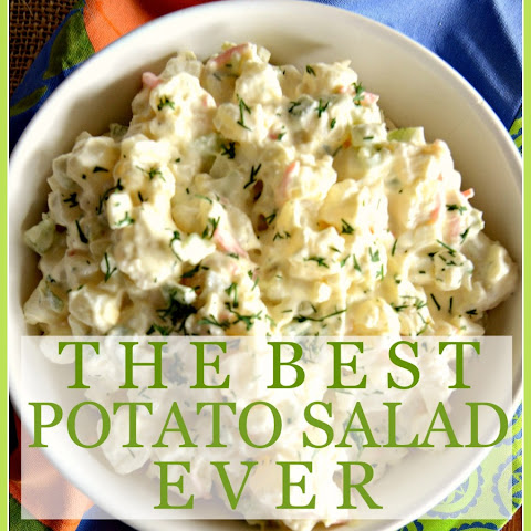THE BEST POTATO SALAD EVER