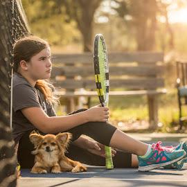 by Kelley Hurwitz Ahr - Babies & Children Children Candids ( homework, march 2015, tennis )