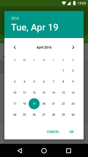 Hijri Calendar screenshot 2