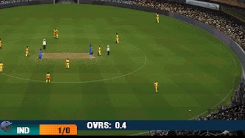 Screenshot of IND vs AUS 2012