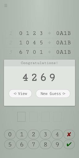 Guess Number - Logical Reasoning screenshot 3