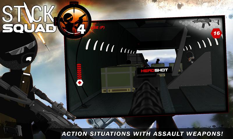 Stick Squad 4 - Sniper's Eye Screenshot 3