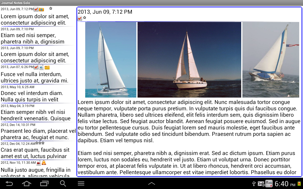 Journal Notes Multimedia Screenshot 9