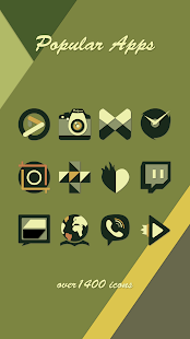 Modern Icons - Icon Pack- screenshot thumbnail