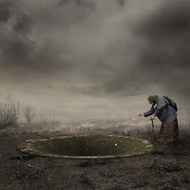 The Wishing Well by Frank Quax - Digital Art People ( fantasy, photoshop art, creative, editing, landscape, people, photoshop )