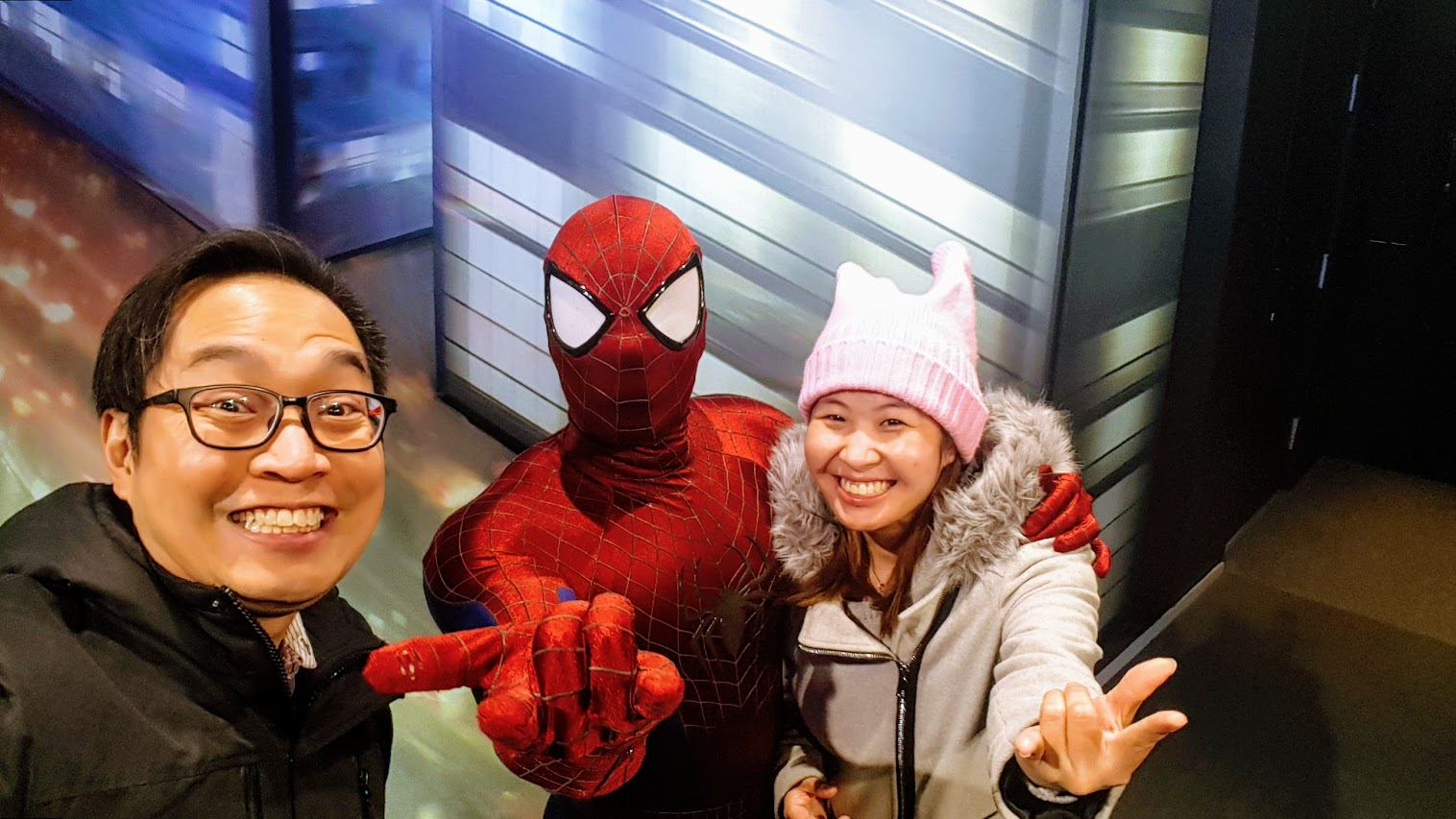 Welfie with Spiderman!