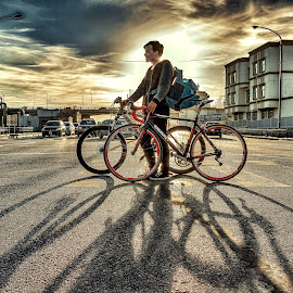 by Boldbaatar Tsend - Transportation Bicycles