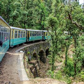 by Amrita Bhattacharyya - Transportation Trains