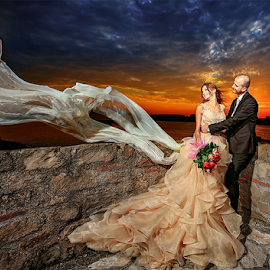 wedding by Dejan Nikolic Fotograf Krusevac - Wedding Bride & Groom ( smederevo, vencanje, mladenovac, krusevac, sunset, wedding, photo-fotograf, svadba, bride, vrnjacka banja, groom )
