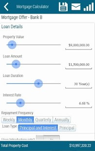 Mortgage Cost Calculator - screenshot