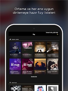 fizy Müzik & Video Screenshot