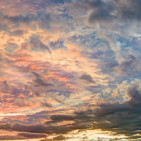 Beauty Cluster by Ferdinand Neman - Landscapes Cloud Formations ( sky, cloud, dusk )