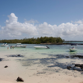 Beach by Tom Rumens - Landscapes Travel ( sand, mauritius, beach )