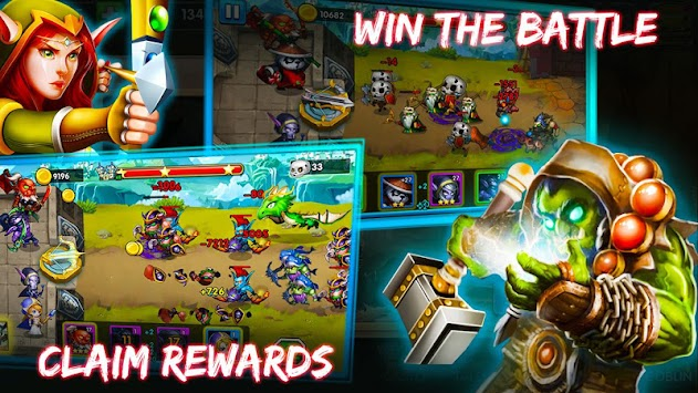 Defender Heroes: Castle Defense TD APK screenshot thumbnail 1