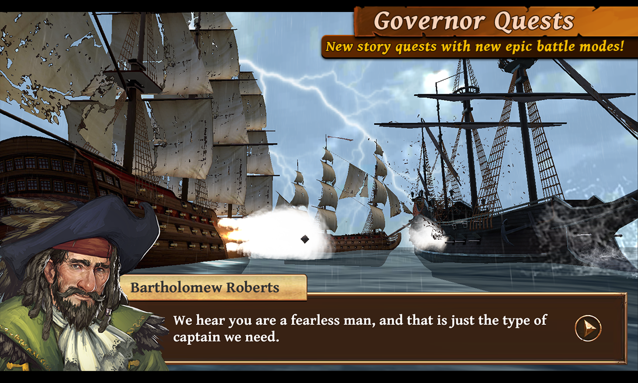 Ships of Battle: Age of Pirates Screenshot 2