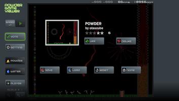 Screenshot of Powder Game Viewer