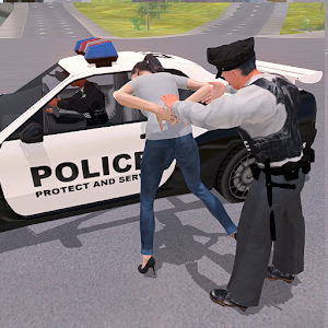 Police Chase - The Cop Car Driver For PC (Windows & MAC)
