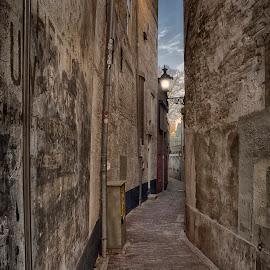 dutch alley by Egon Zitter - City,  Street & Park  Street Scenes ( urban, narrow, street, dutch, town, city, alley )