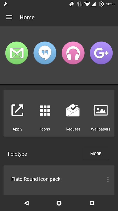 Ariel UI - Circle Icon Pack Screenshot 0