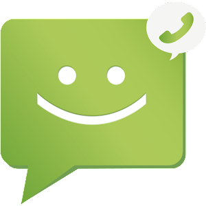 The best free SMS/Text message Android app . Nice experience to send/receive sms APK Icon