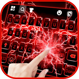 Red Lightning Keyboard Theme For PC / Windows 7/8/10 / Mac – Free Download