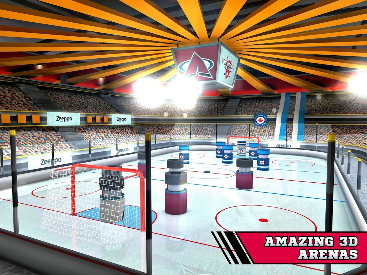 Pin Hockey - Ice Arena Screenshot 5