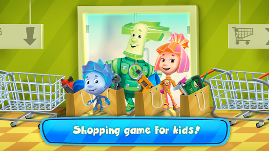 Game Fiksiki Supermarket Shopping Games for Kids APK for Kindle