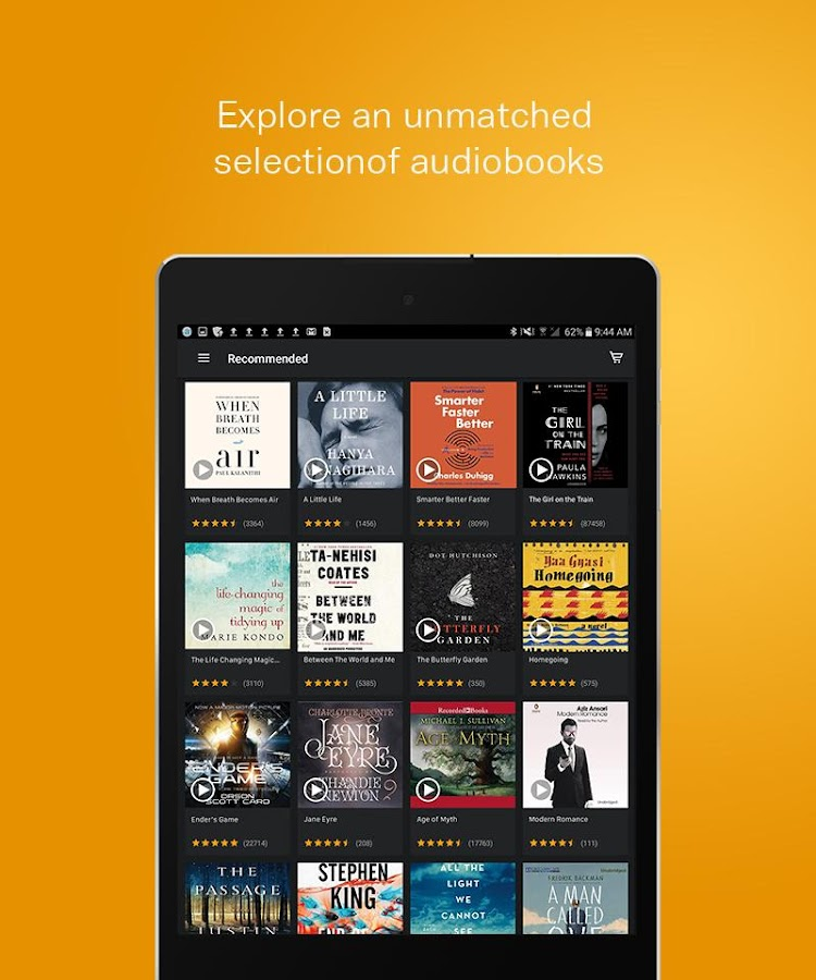 Audiobooks from Audible Screenshot 11