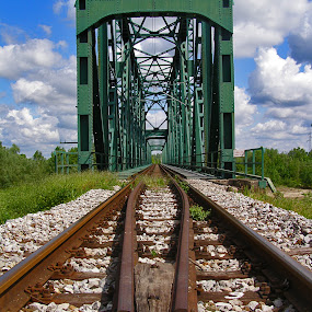 most        by Zeljko Sajko-Saja - Travel Locations Railway ( kamen, tračnice, pruga, most, vlak, bridge )