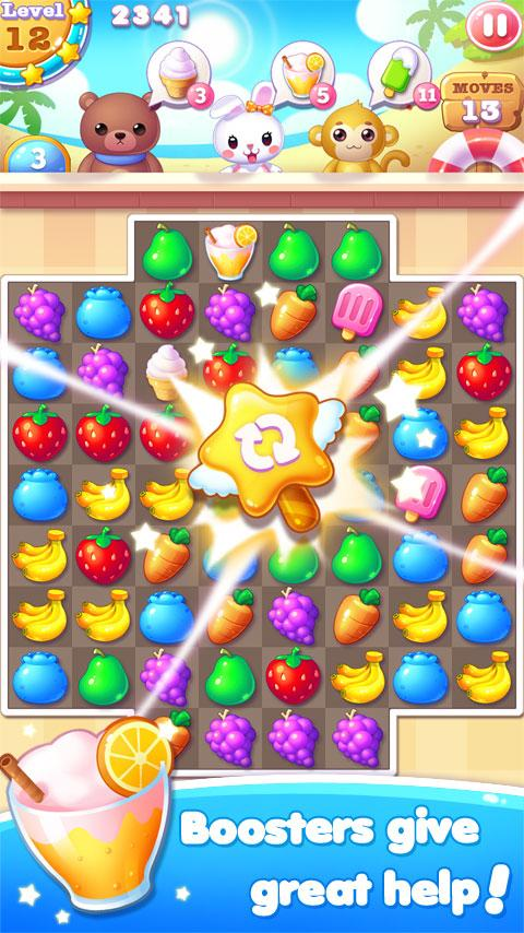 Fruit Bunny Mania Screenshot 1