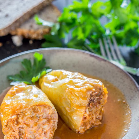 Stuffed Peppers Romanian Style