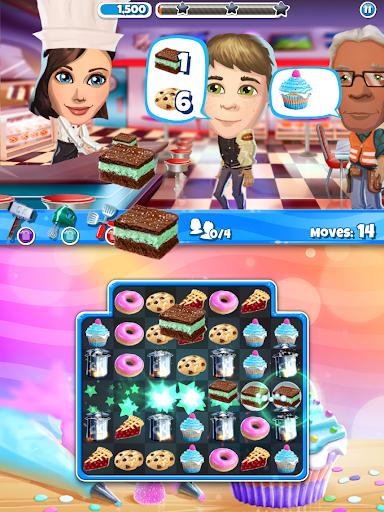 Crazy Kitchen: Match 3 Puzzles screenshot 12