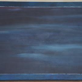Het avondlicht scheen zacht by Kris Van den Bossche - Painting All Painting