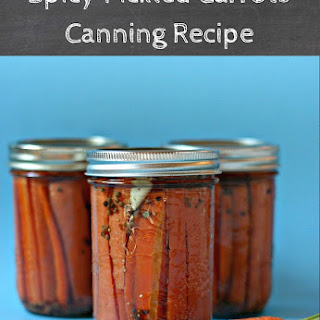 Spicy Pickled Carrots Canning