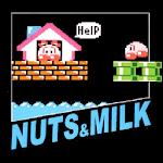 Nuts & Milk Icon