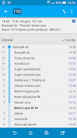 Screenshot of Budapest Public Transport