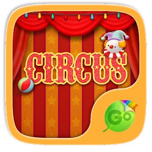 Circus GO keyboard theme