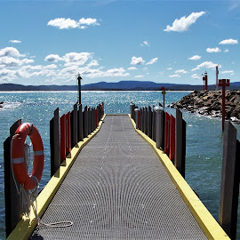 Mallacoota by Sarah Harding - Novices Only Landscapes ( novices only, sea, pier, summer, landscape )