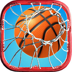 Slam Dunk Real Basketball - 3D Game Icon
