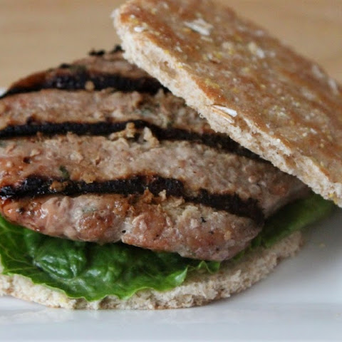 Honey Worcestershire Turkey Burgers