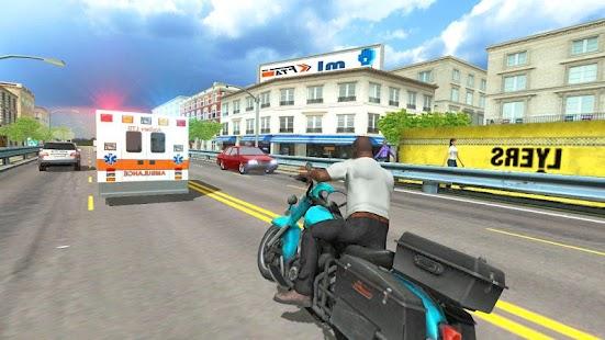 City Traffic Moto Racing