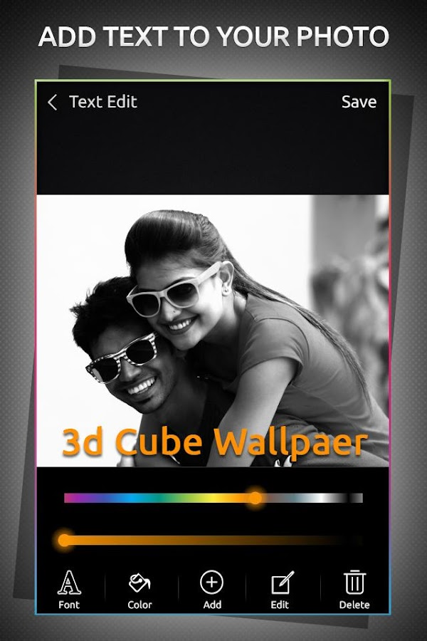 3D Cube Live Wallpaper android apps download