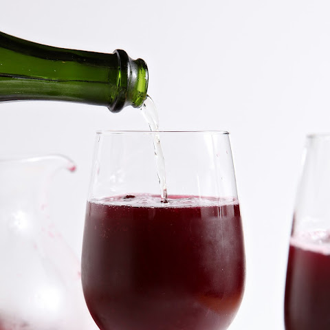 Winter Sparkling Champagne Sangria