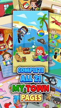 My Town : Sticker Book (Unreleased) APK screenshot thumbnail 9