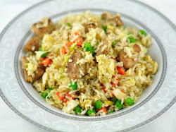 CHICKEN FRIED RICE - EASY FRIED RICE